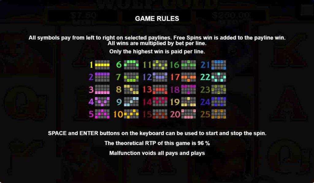 เส้นแนวทางสล็อตออนไลน์ Wolf Gold จากค่ายเกมสล็อตออนไลน์ Pragmatic Play