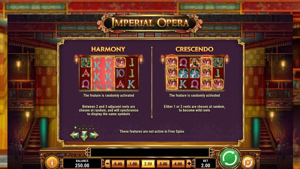 โบนัสสล็อตออนไลน์ Imperial Opera ทุกคนที่เล่นเกมสล็อตออนไลน์นี้จะมีโอกาสที่จะได้โบนัสกันทุกคน