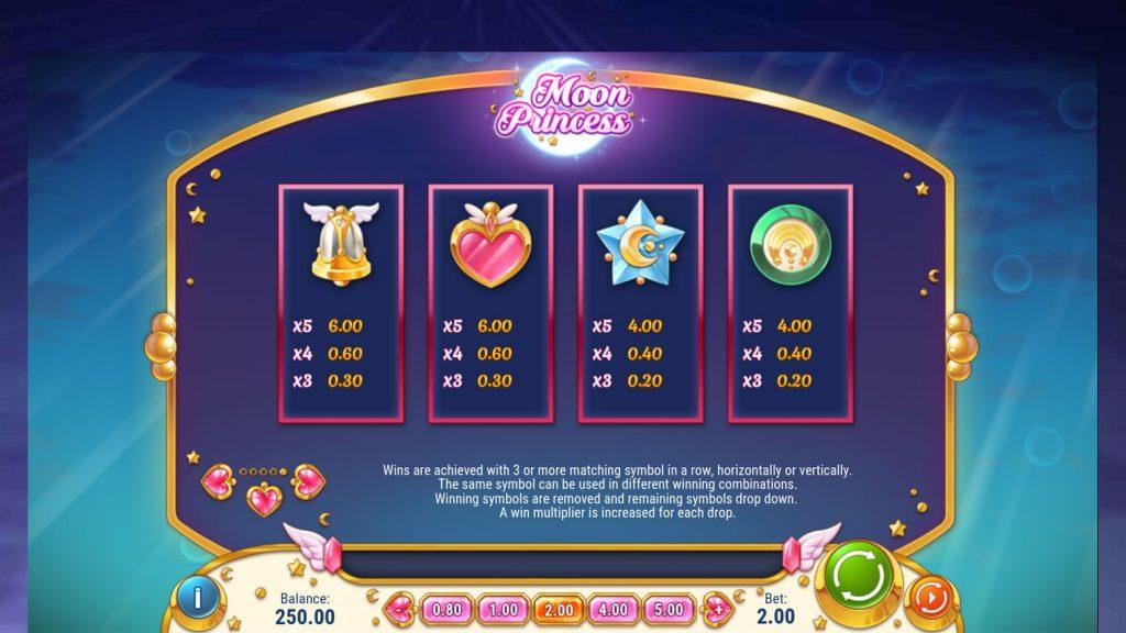 Moon Princess สัญลักษณ์สล็อตออนไลน์ได้ออกแบบมาให้เกมสล็อตนั้นน่าเล่นมากขึ้น
