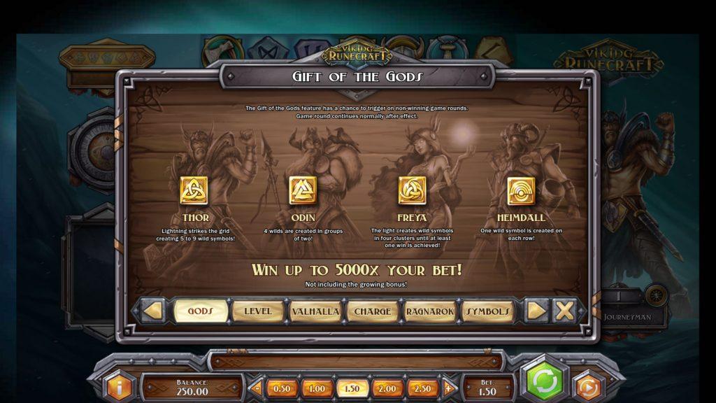โบนัสสล็อตออนไลน์ Viking Runecraft  ที่เพื่อนๆ ได้โบนัสนั้นง่ายมาก และมีโอกาสที่จะได้เท่ากันทุกคน