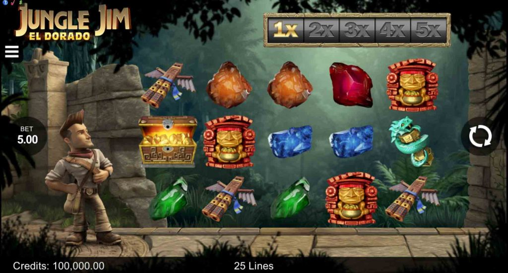 Jungle Jim - El Dorado สล็อตออนไลน์ นำเสนอโดยค่ายเกม Microgaming ที่จะพาท่านไปผจญภัยในป่าลึก หาลองล้ำค่าของโบราณ