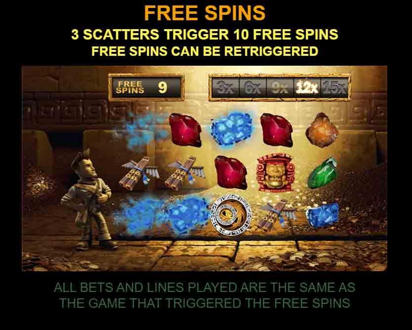 Jungle Jim - El Dorado สล็อตออนไลน์ นำเสนอโดยค่ายเกม Microgaming โบนัสที่เพื่อนๆ มีโอกาสได้กันทุกคน