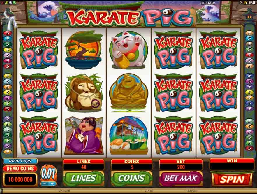 Karate Pig สล็อตออนไลน์ จะพาเพื่อนๆไปสนุกสนานกับ หมูคาราเต้ที่ชอบการผจญภัยเป็นชีวิตจิตใจ