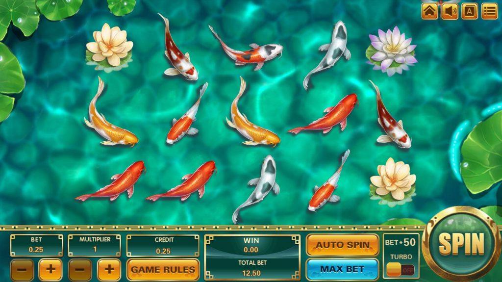 Koi Treasure สล็อตออนไลน์ จากค่ายเกม Asia Gaming จะพาเพื่อนๆไปชมความสวยงาม ลวดลาย สีสัน ของปลาคราฟ