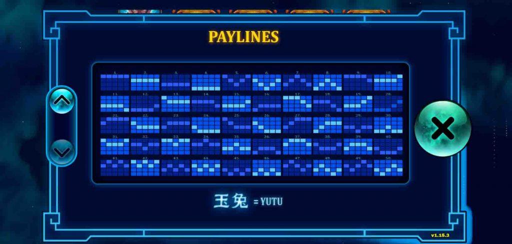 Payline หรือเรียกอีกอย่างว่า เส้นแนวทางของสล็อตออนไลน์ Yutu ที่จะทำให้เพื่อนๆ ได้รับรางวัลมากขึ้น