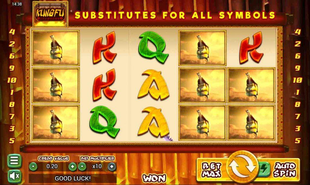 Kung Fu Showdown สล็อตออนไลน์จากค่ายเกม Top Trend Gaming